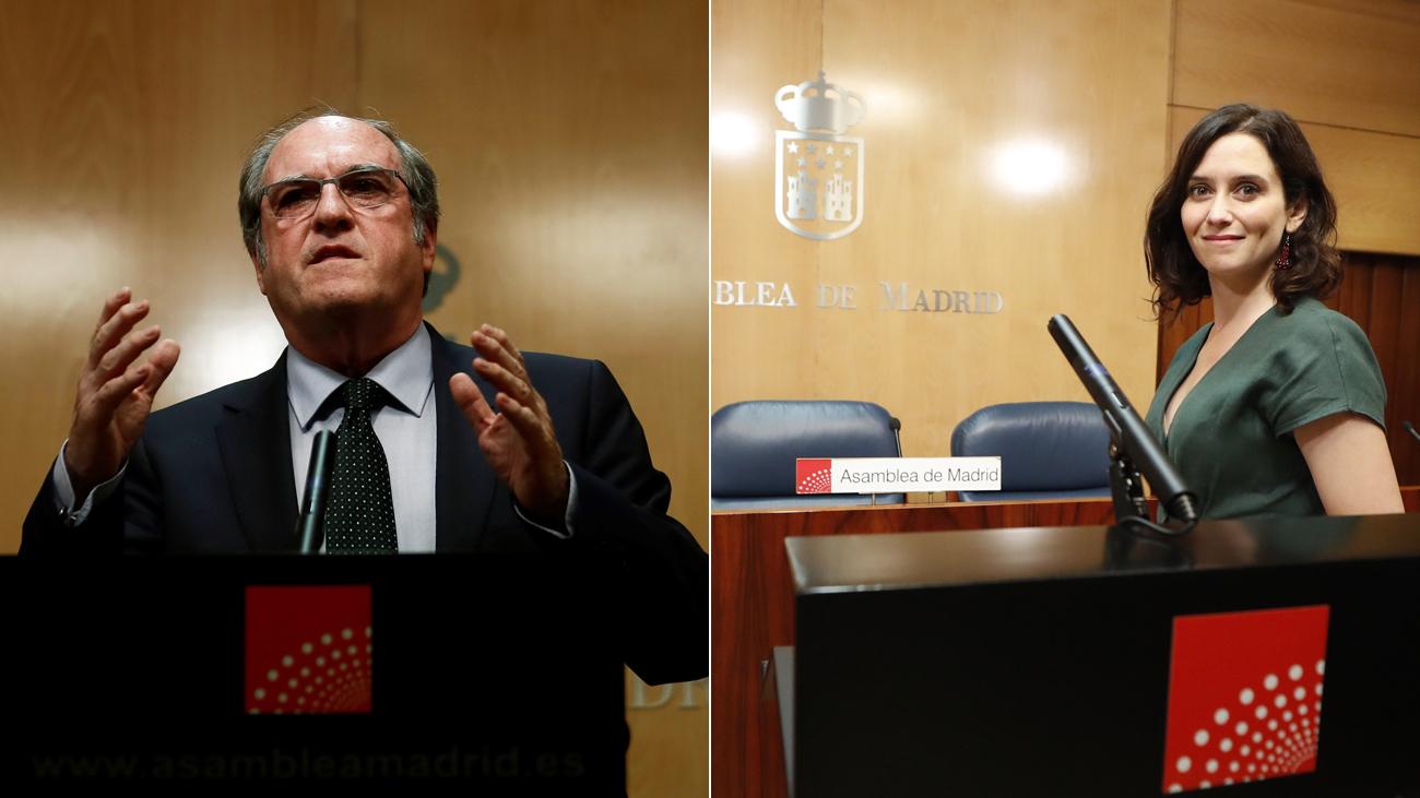 Quiero pero no puedo en la Asamblea de Madrid