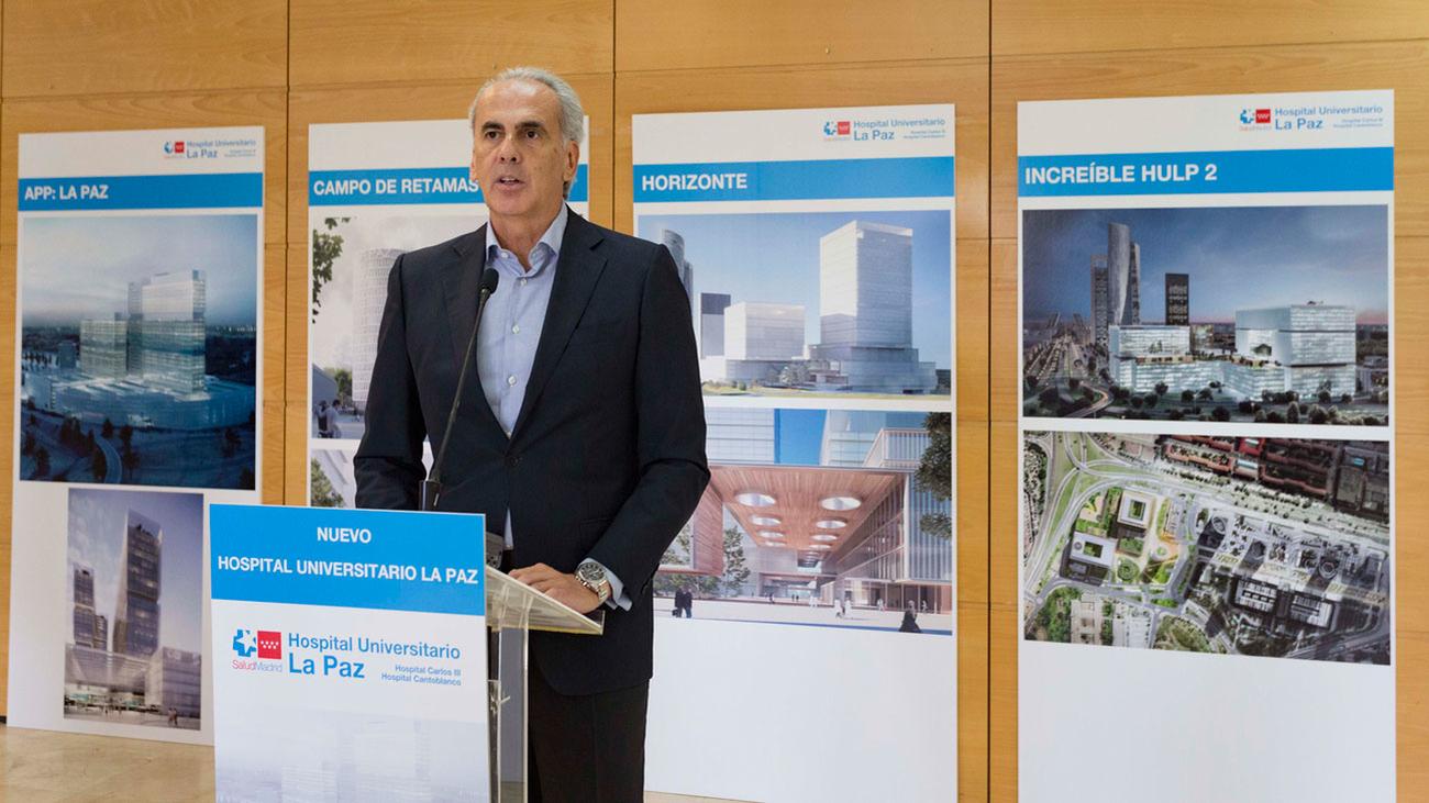 El nuevo hospital de La Paz crecerá en altura