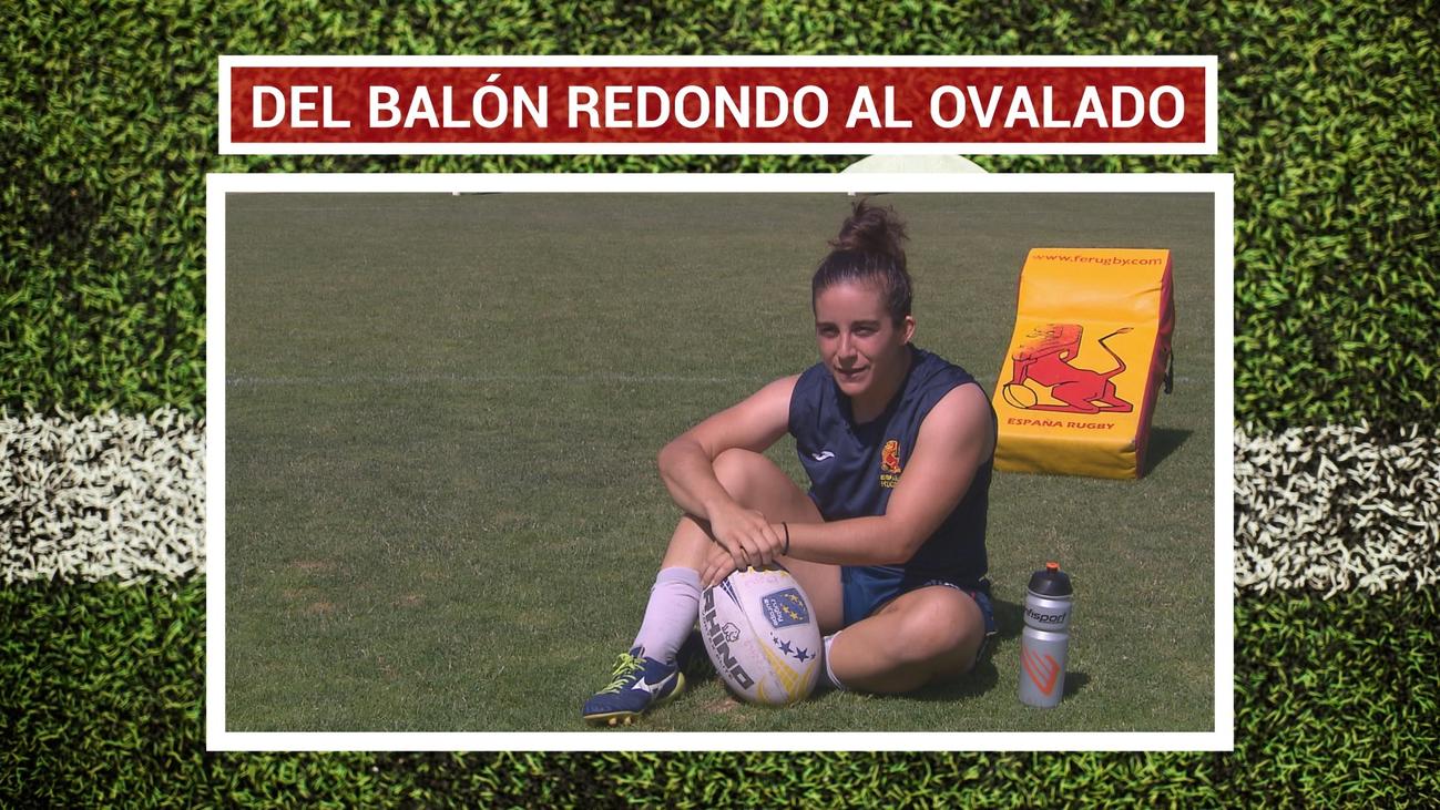 Patricia García, enamorada de los valores del rugby