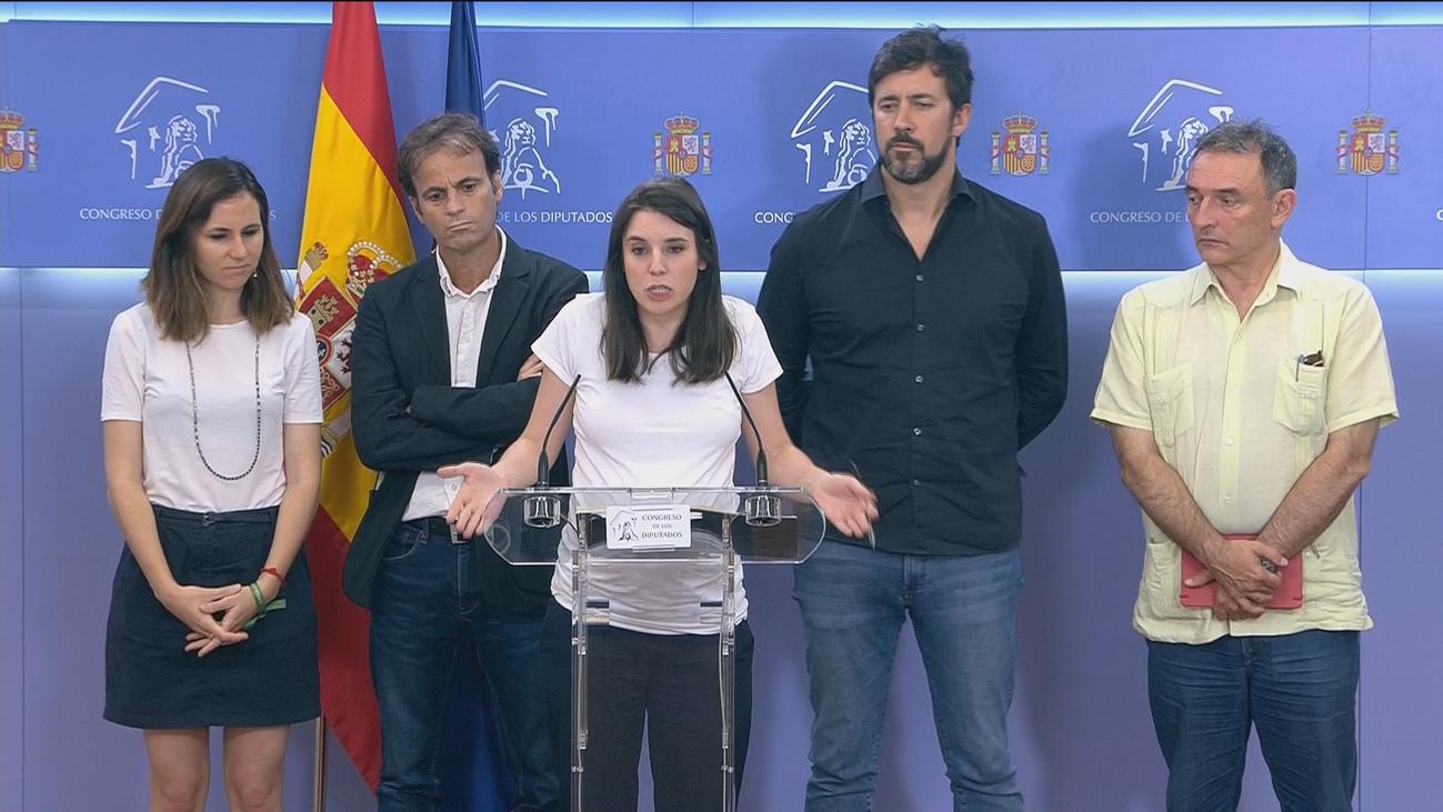 Montero se burla de la propuesta de Sánchez de incluir independientes