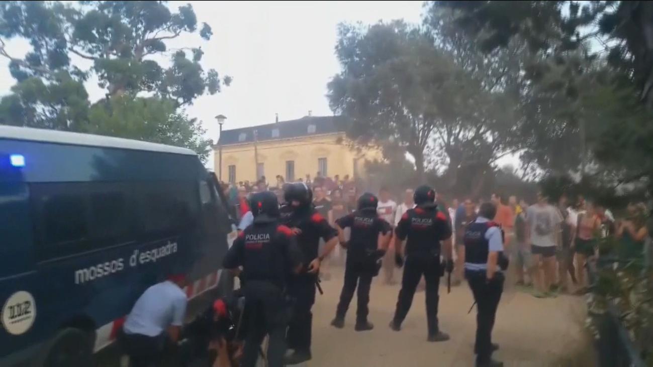 Un grupo organizado ataca el centro de menores de El Masnou (Barcelona)