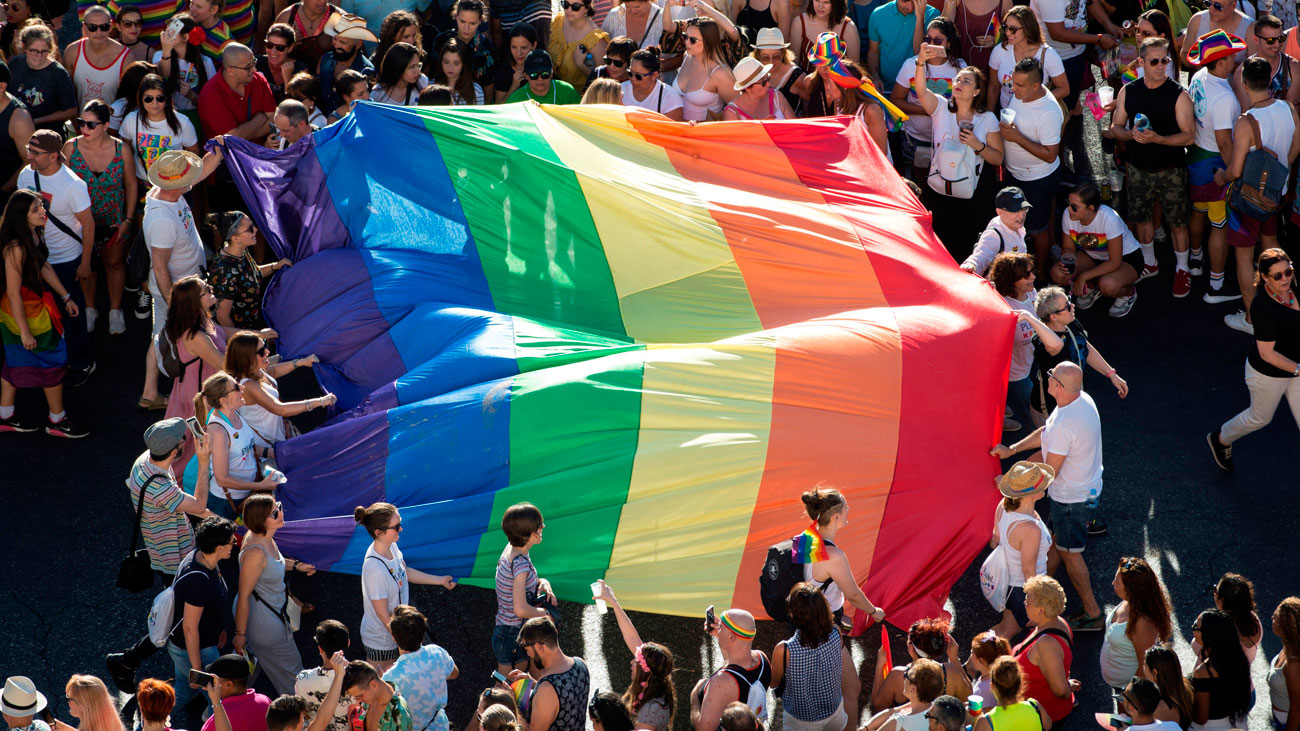 Madrid celebra un Orgullo LGTBI multitudinario y reivindicativo