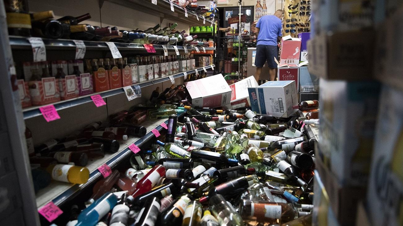 California sufre el terremoto de mayor magnitud de sus últimos 20 años