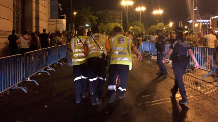 Cuatro heridos, uno de gravedad, al caer desde una carroza en el desfile del Orgullo