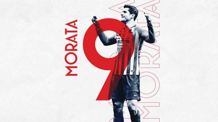 El Atlético de Madrid hace oficial el fichaje de Álvaro Morata