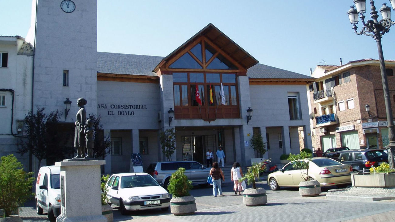 Ayuntamiento de El Boalo (Foto El Faro del Guadarrama)