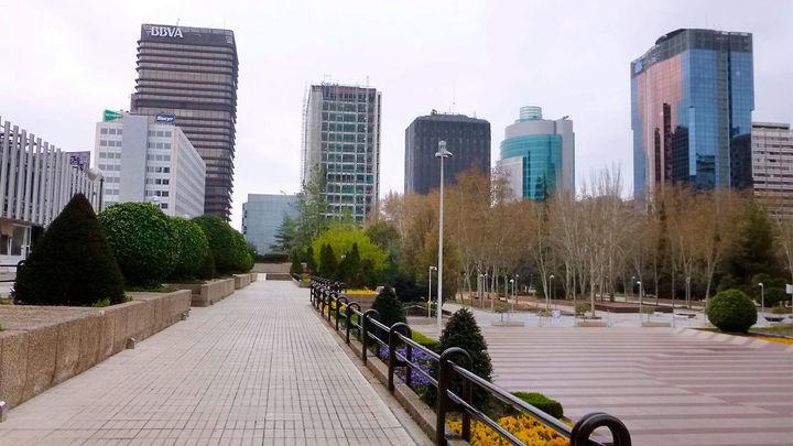 Madrid sustituirá los paneles de los túneles de Azca tras hallar amianto