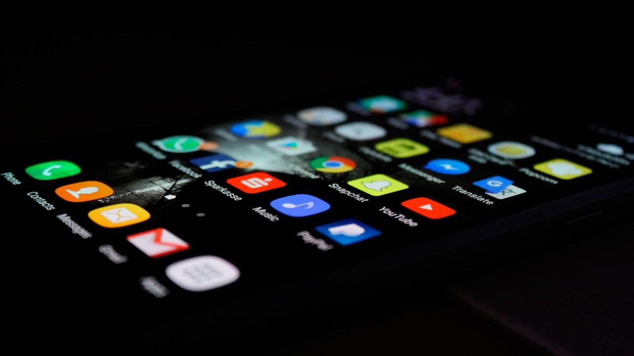 Imagen de la pantalla de un teléfono móvil