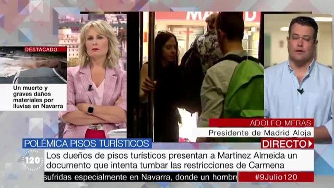 Los dueños de pisos turísticos en Madrid intentan tumbar las medidas de Carmena