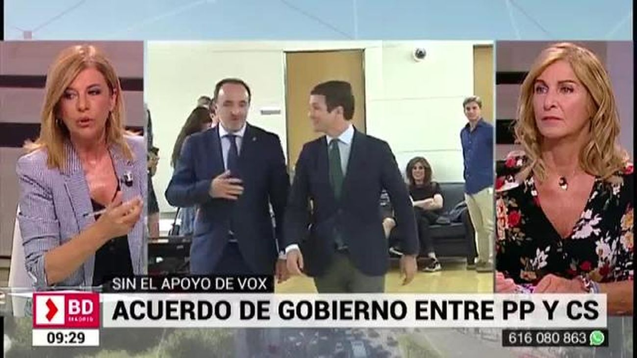 Buenos Días Madrid (08:30-10:30) 09.07.2019