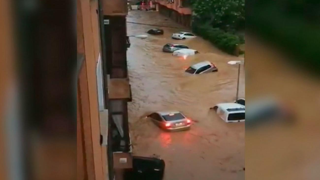 Un muerto en las graves inundaciones de Navarra