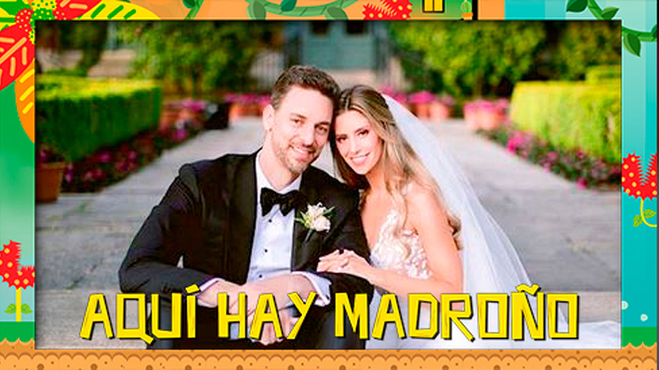 Pau Gasol y Cat McDonell, ¡ya son marido y mujer!