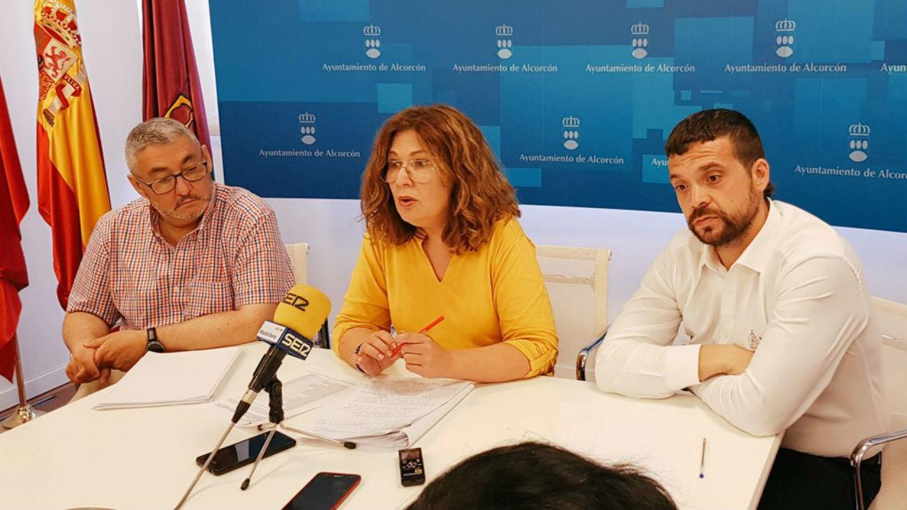 Natalia de André, alcaldesa de Alcorcón