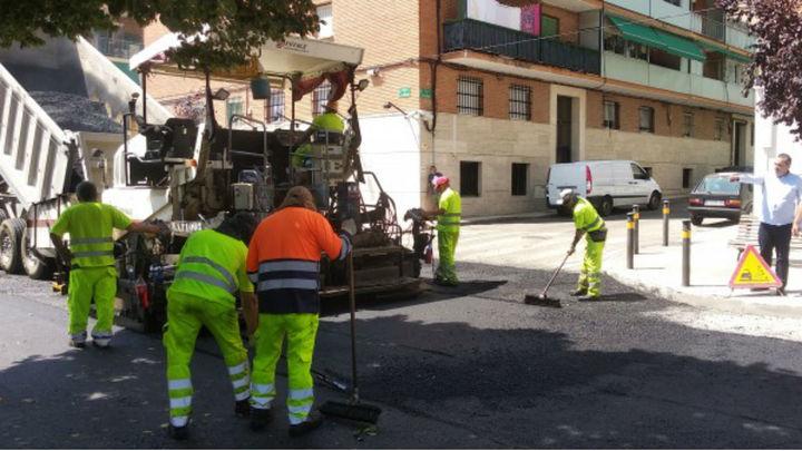 Pistoletazo de salida a la operación asfalto en San Fernando de Henares