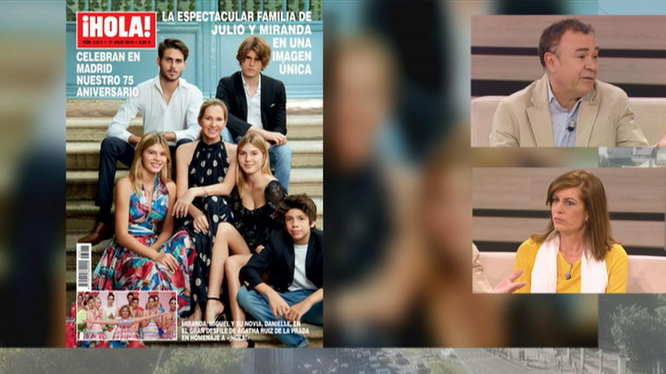 Un juez sentencia que Julio Iglesias es el padre de Javier Sánchez Santos