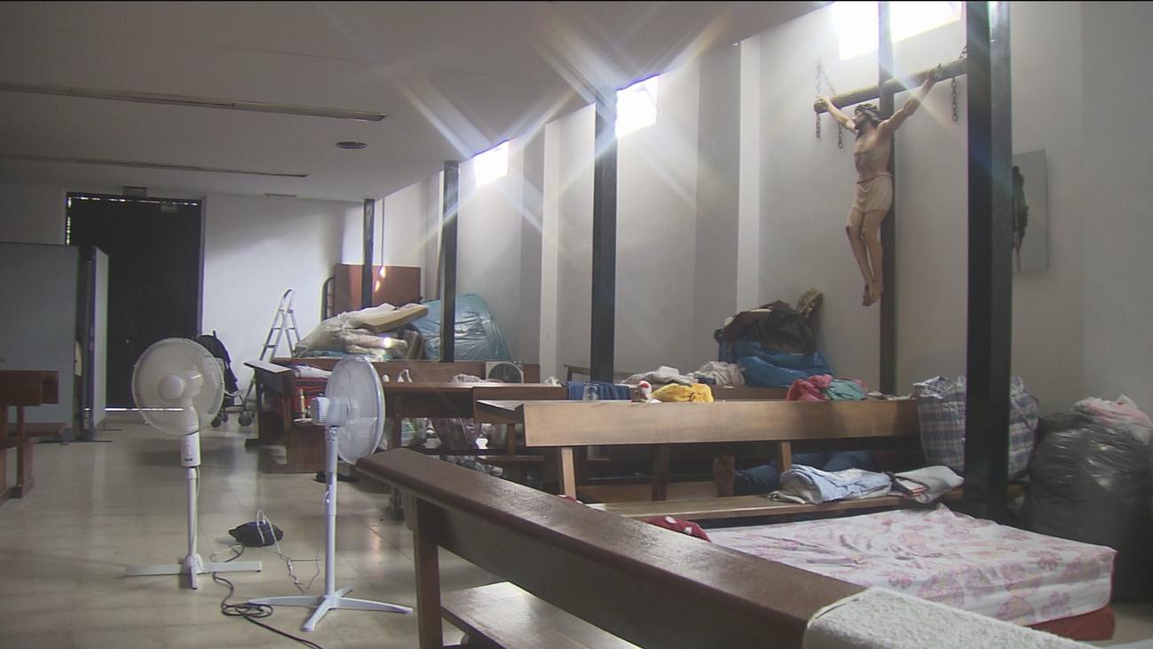 Refugiados acogidos en parroquias madrileñas