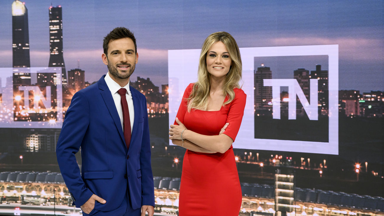 Manu Pérez y Rocío Delgado presentarán Telenoticias 2 de Telemadrid a partir de septiembre