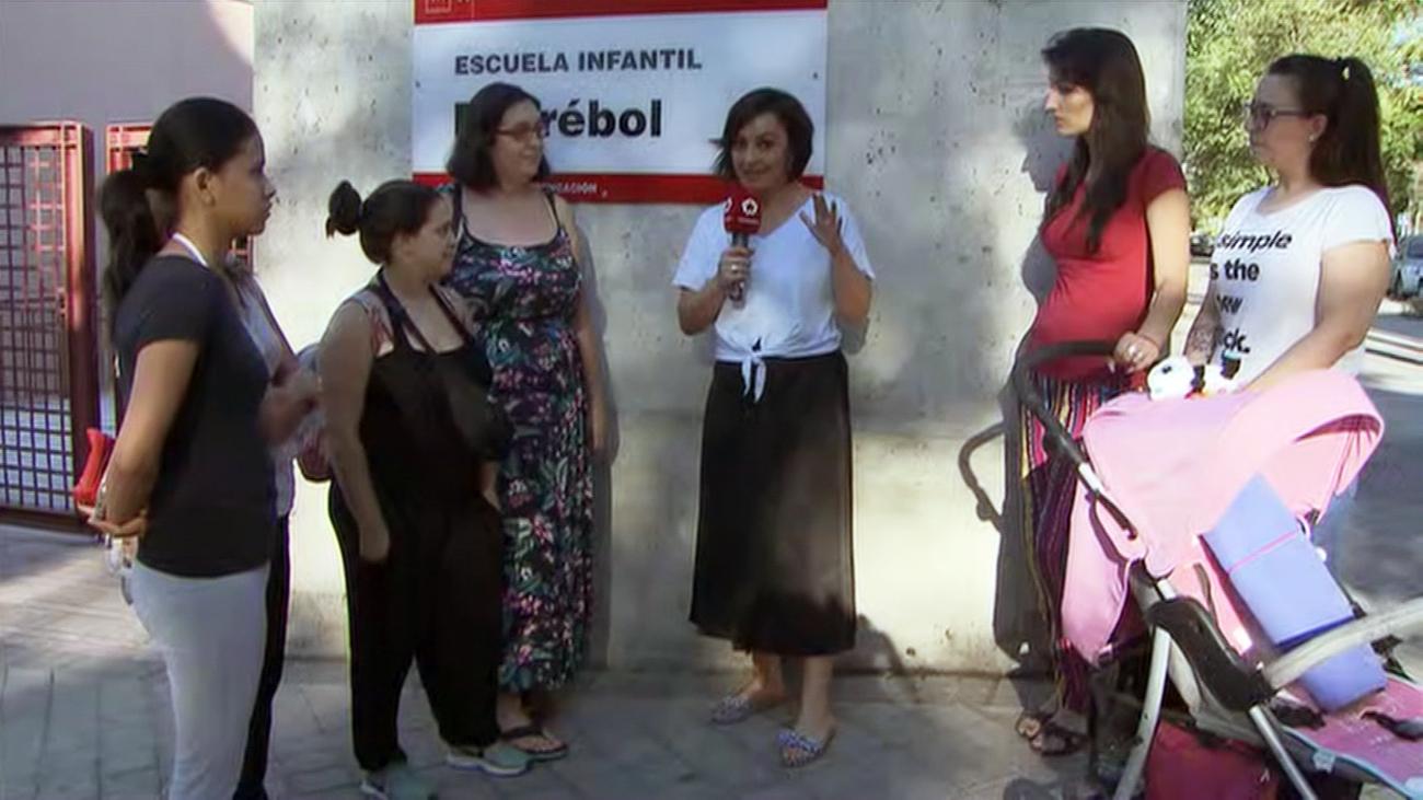 Amenaza de cierre para una escuela infantil por superar los 30ºC en Puente de Vallecas