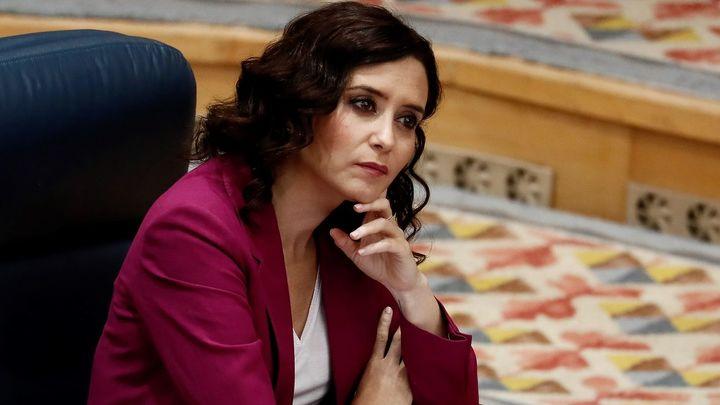 """Isabel Díaz Ayuso: """"Puede haber pleno de investidura muy pronto"""""""
