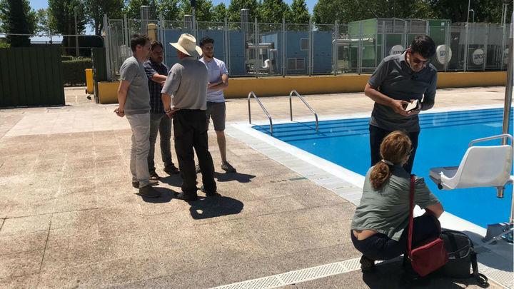 Algete reabre su piscina tras eliminar todos los restos contaminantes