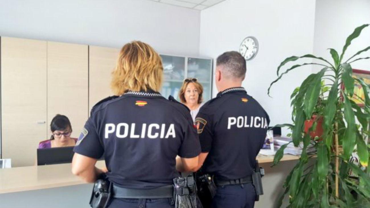Policía local de San Martín de la Vega