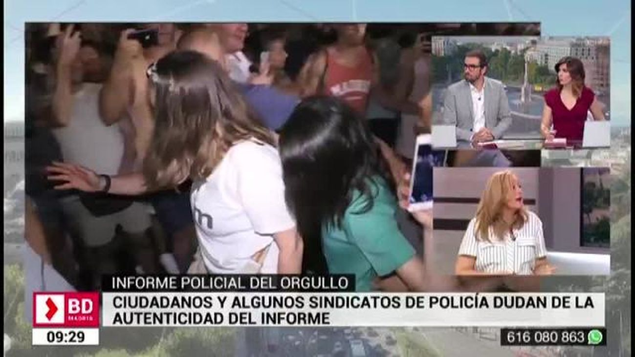 Buenos Días Madrid  (08:30- 10:30) 11.07.2019