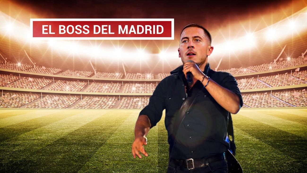 Hazard, el nuevo jefe del Real Madrid