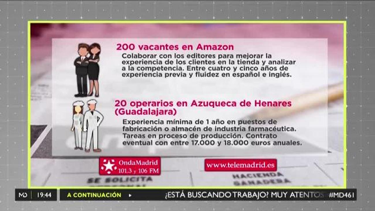 Se buscan operarios de producción para trabajar en Azuqueca de Henares