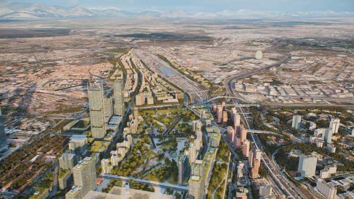 Madrid Nuevo Norte y sus 26 años de vaivenes urbanísticos