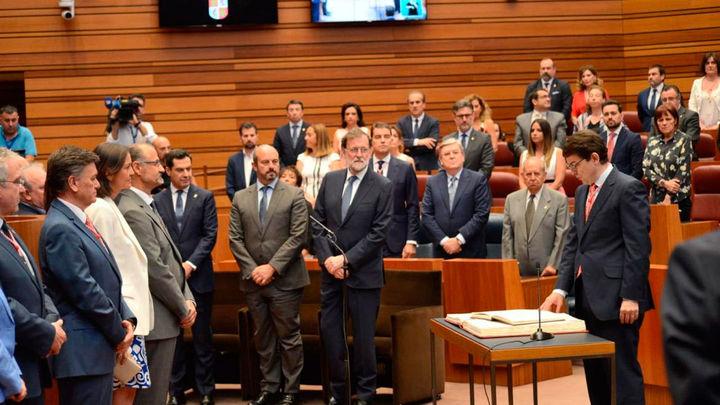 Fernández Mañueco toma posesión como presidente de la Junta de Castilla y León