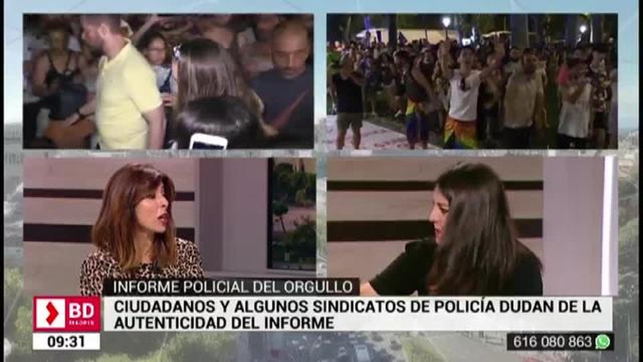 Buenos Días Madrid (08.:30-10:30) 12.07.2019