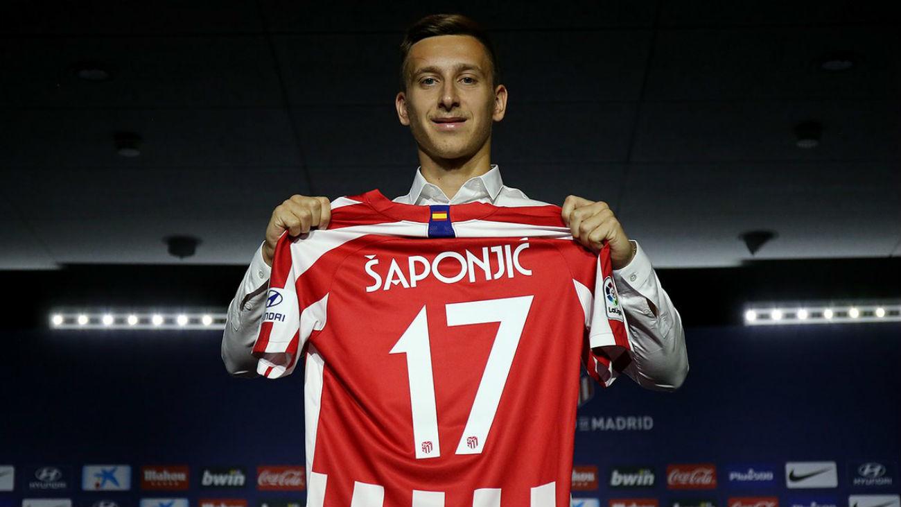 """Saponjic, presentado: """"Es un sueño llegar a un equipo tan importante"""""""