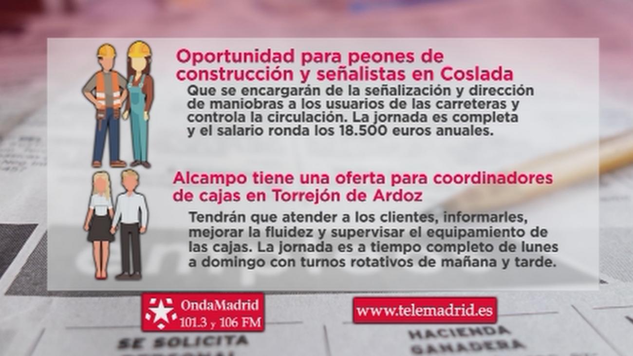 Alcampo busca personal para trabajar en Torrejón de Ardoz