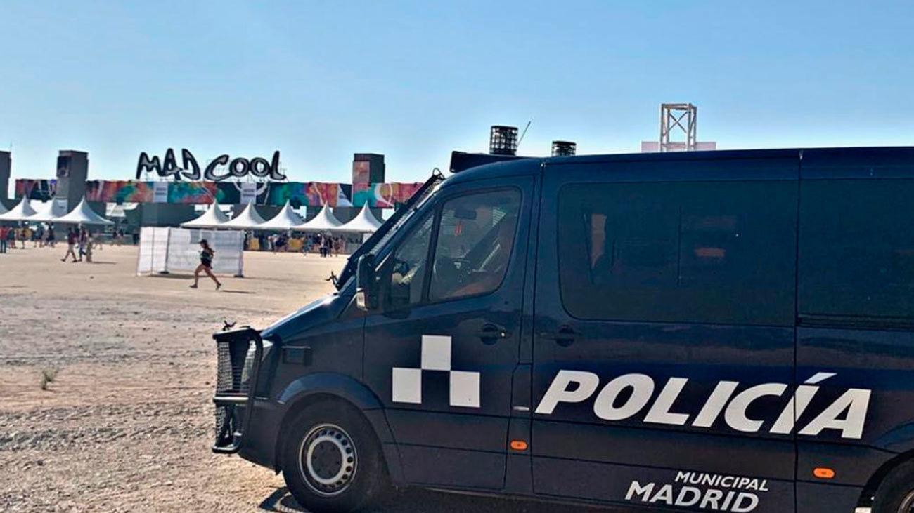 Detenida una mujer en el Mad Cool por sustraer 27 teléfonos móviles
