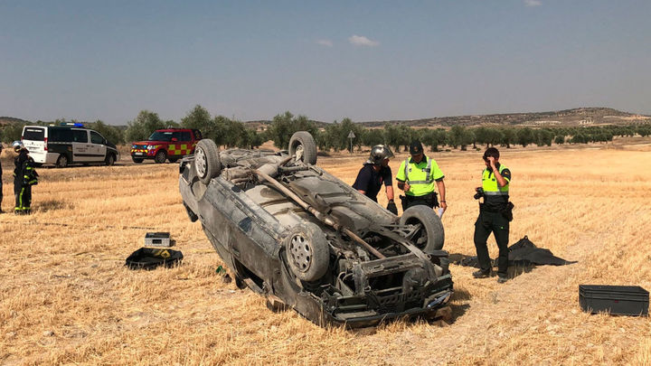 Muere un hombre de 55 años en un accidente de tráfico en Villaconejos