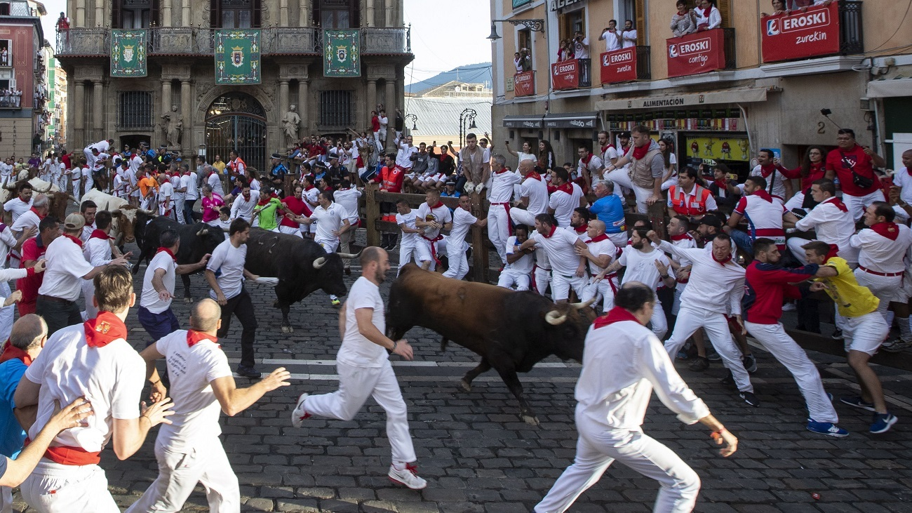 Séptimo encierro de San Fermín 2019