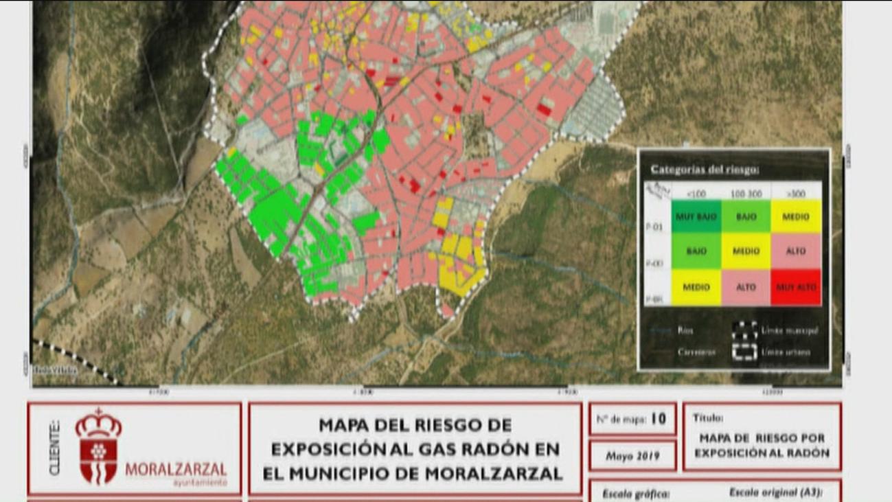 Crece la preocupación en Morarzarzal por la alta presencia de gas radón