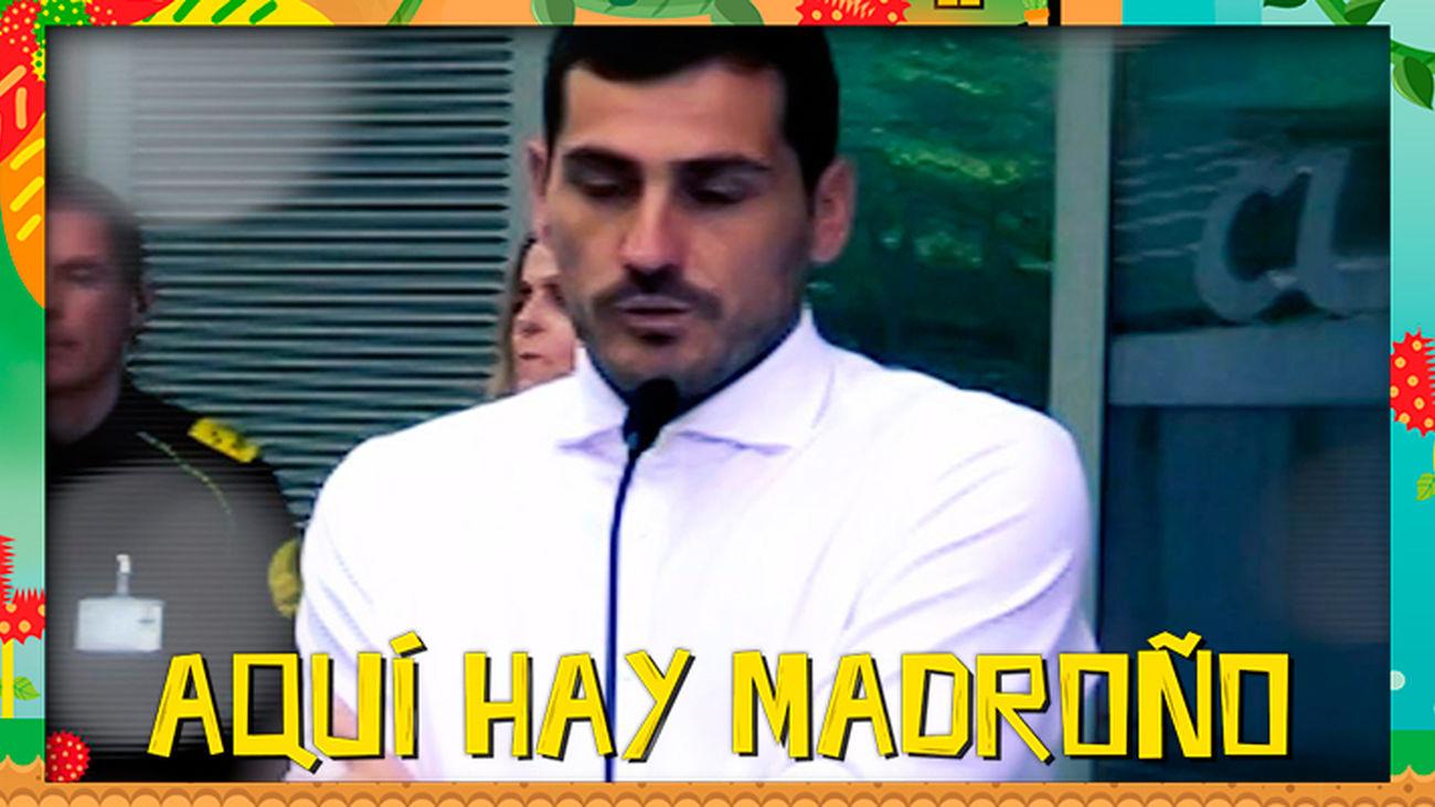 Iker Casillas deja el fútbol, pero no del todo…