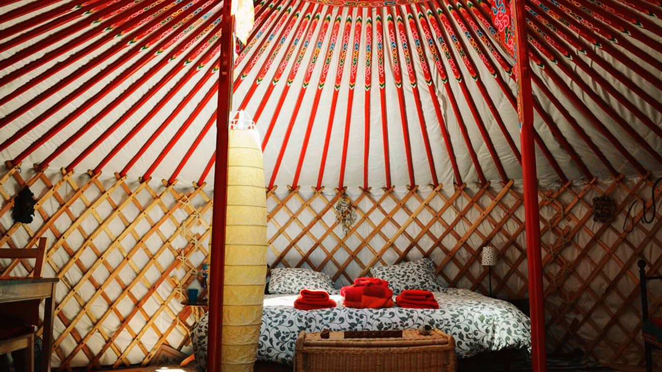 Dormir en una yurta mongola, toda una aventura