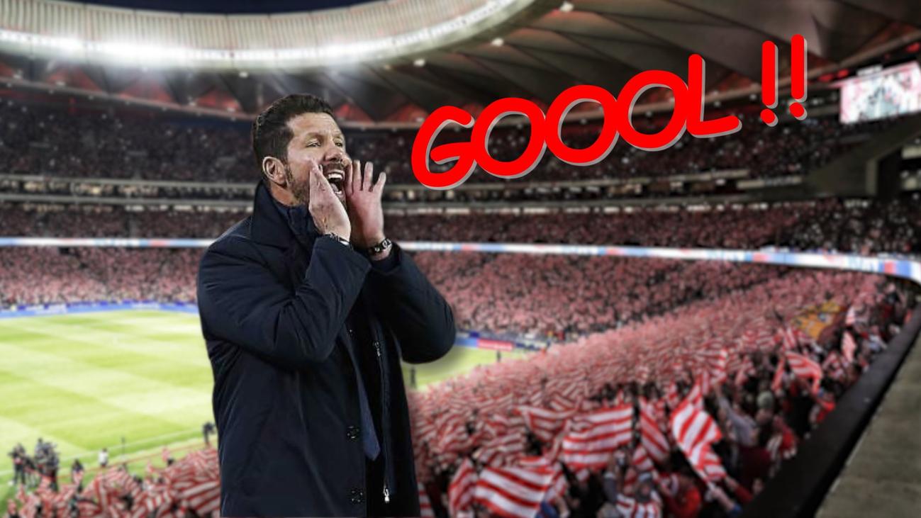 Simeone quiere más goles para su nuevo Atlético