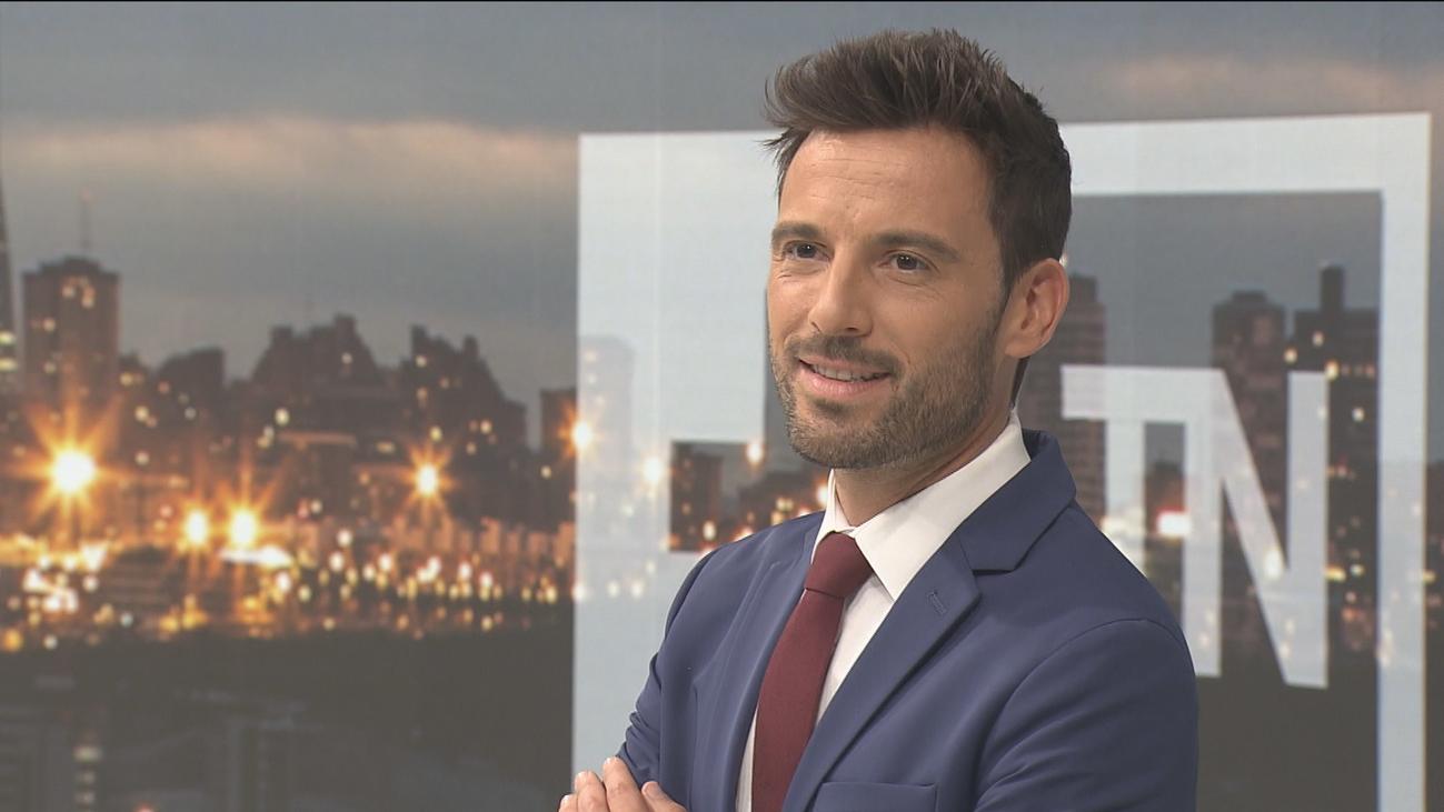 """Manu Pérez, nuevo presentador del TN2 de Telemadrid: """"Vengo a intentar sumar y a aprender"""""""