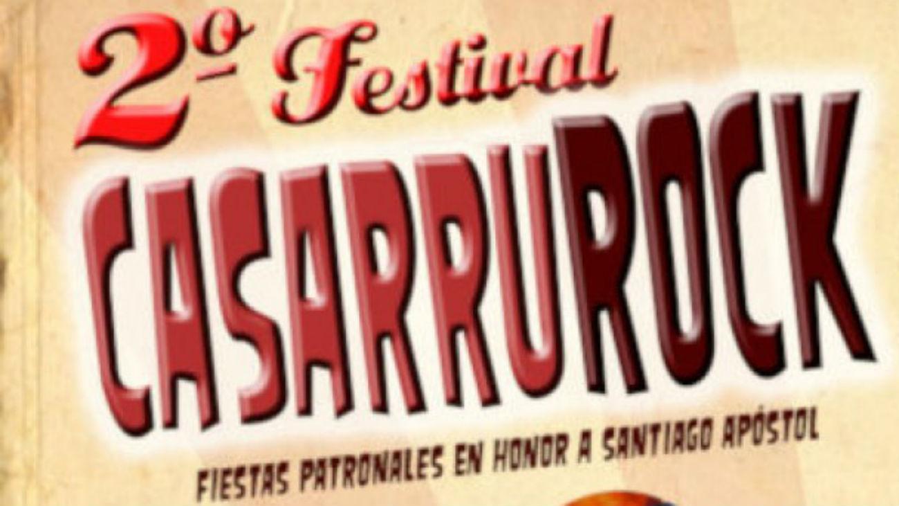 El festival de rock 'Casarrurock' regresa a Casarrubuelos