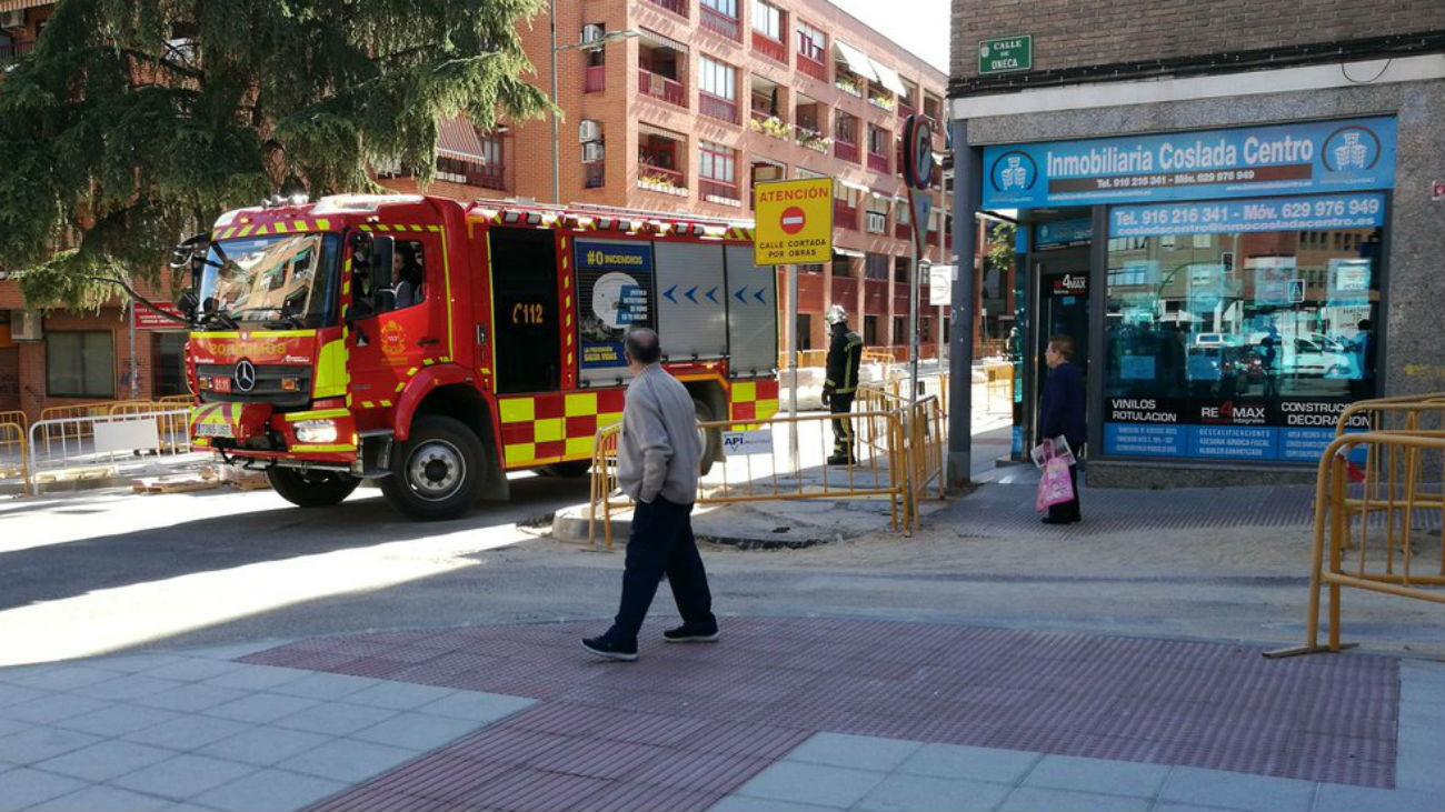 Bomberos de la Comunidad de Madrid