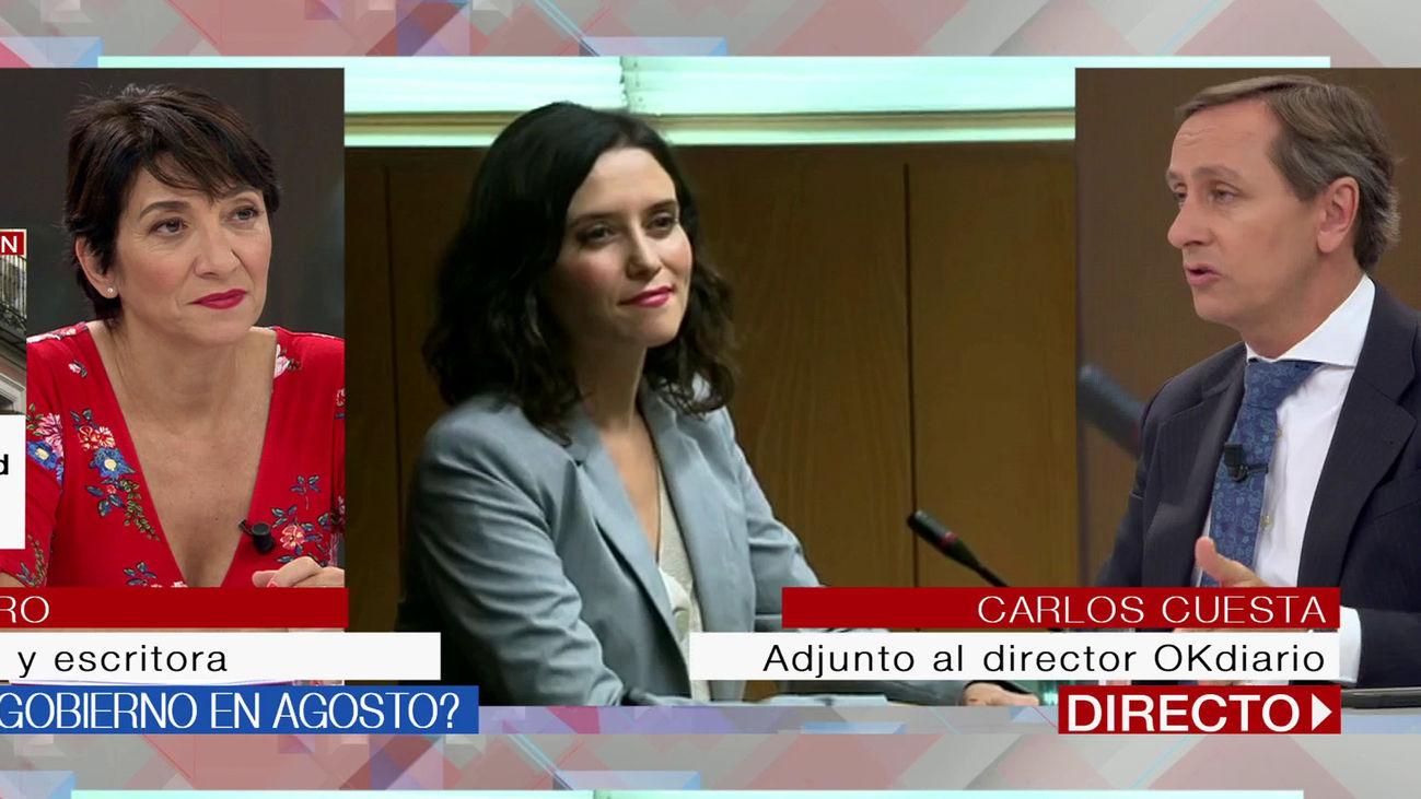 La investidura en Madrid, con el 1 de agosto como fecha límite