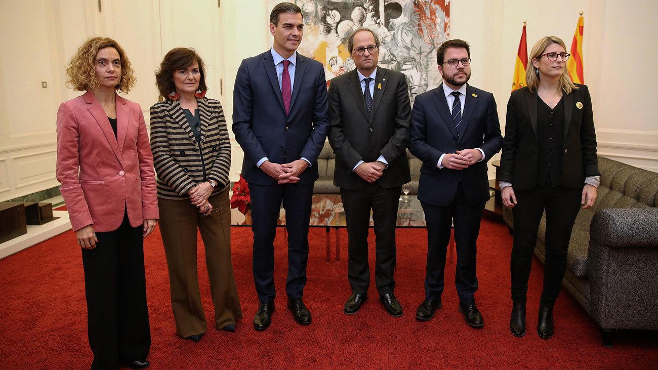 Torra pide un 'no' a Sánchez si no hay referéndum
