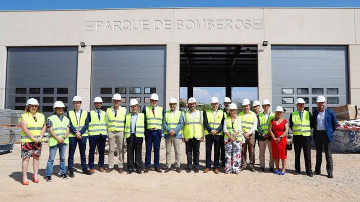 El nuevo parque de bomberos de Alcobendas estará operativo en 2020