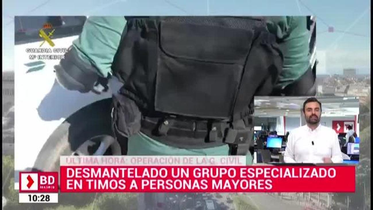 Cae un grupo familiar dedicado a timar a ancianos en varios municipios de Madrid