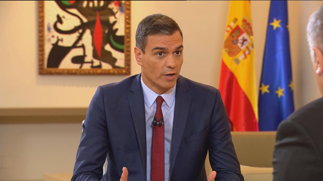 """Sánchez ve """"un escollo"""" tener a Iglesias en su gobierno"""