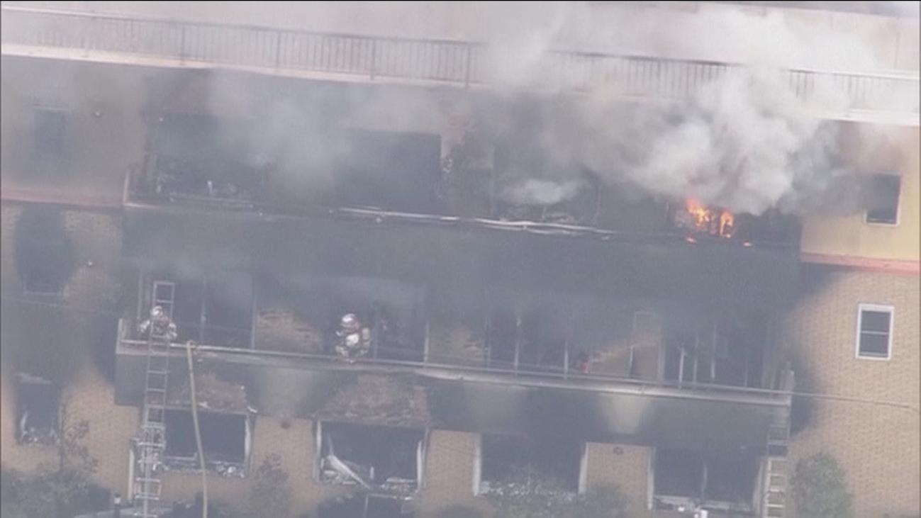 Al menos 25 muertos y decenas de heridos por un incendio provocado en Japón