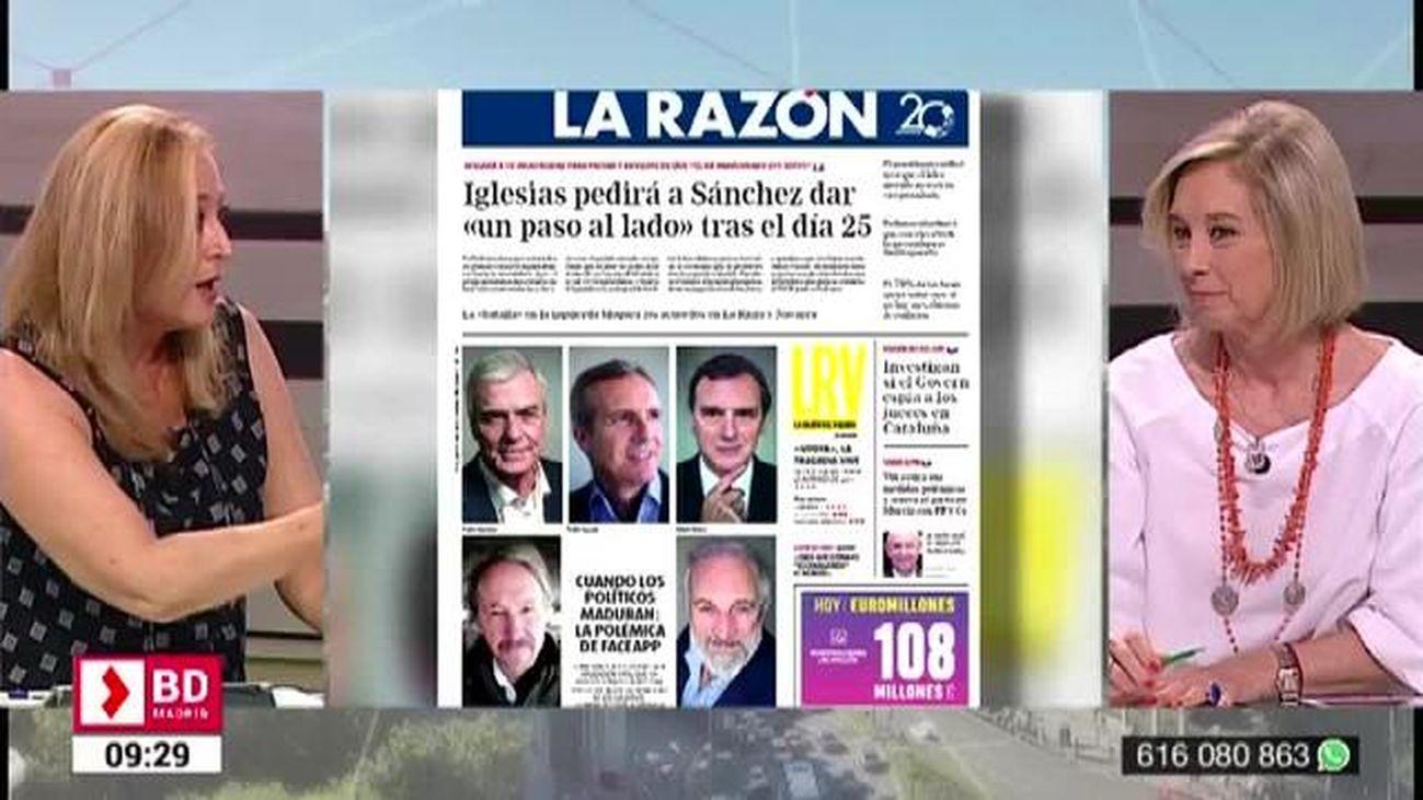 Buenos Días Madrid (08:30-10:30) 19.07.2019